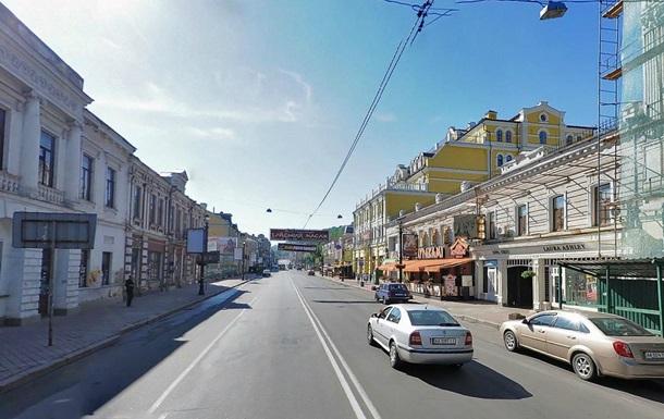 В Киеве улица Сагайдачного останется пешеходной