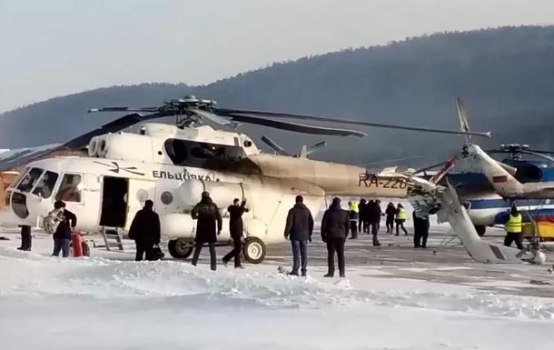 Вертоліт Мі-8 розбив хвіст об будівлю аеропорту