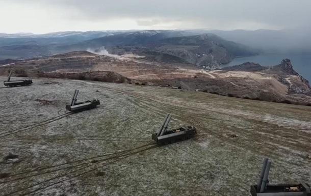 В Крыму развернули ракетный комплекс Бастион