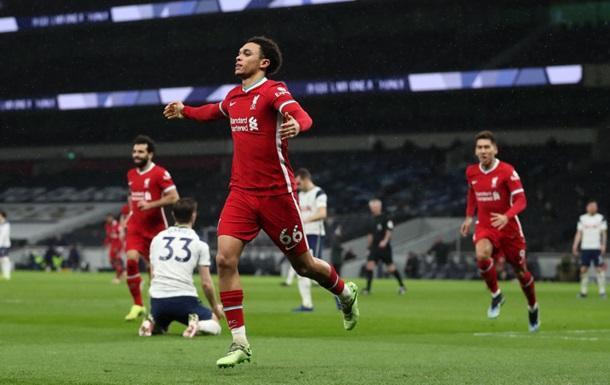 Ліверпуль в результативному матчі обіграв Тоттенхем