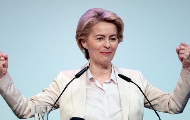 Глава ЄК обговорила із Зеленським боротьбу з епідемією