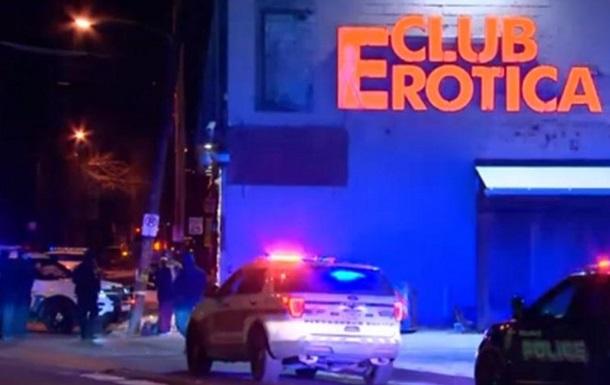 В США в перестрелке у стриптиз-клуба погибли два человека