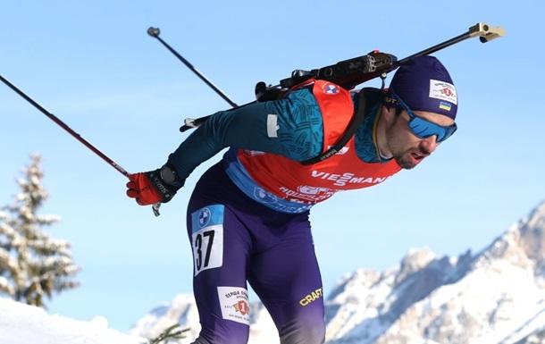 Биатлон: Прима попал в цветочную церемонию в спринте на чемпионате Европы