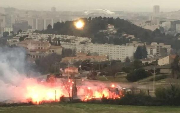 Ультрас підпалили базу клубу Марсель
