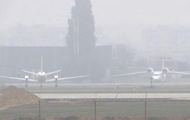 В Одесі туман паралізував роботу аеропорту