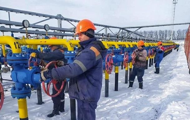 В ПХГ Украины осталось менее 22 млрд кубов газа