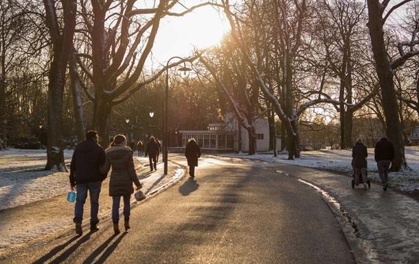 В Киеве в январе температура превысила обновленную климатическую норму