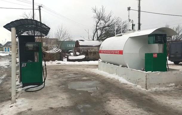 В Одесской области вооруженные люди напали за АЗС