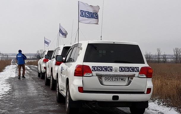 ОБСЕ сообщила о почти 90 нарушениях на Донбассе за выходные