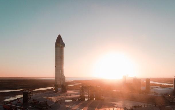 Прототип космического корабля Starship разбился при посадке