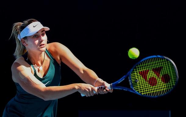 Костюк уверенно разобралась с Дамбровски на турнире в Мельбурне