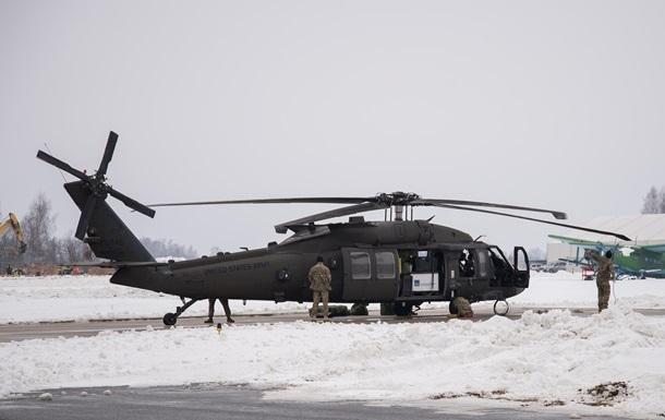У США розбився військовий вертоліт: є загиблі
