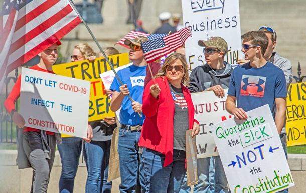 Эпидемия вызвала к жизни волну протестов