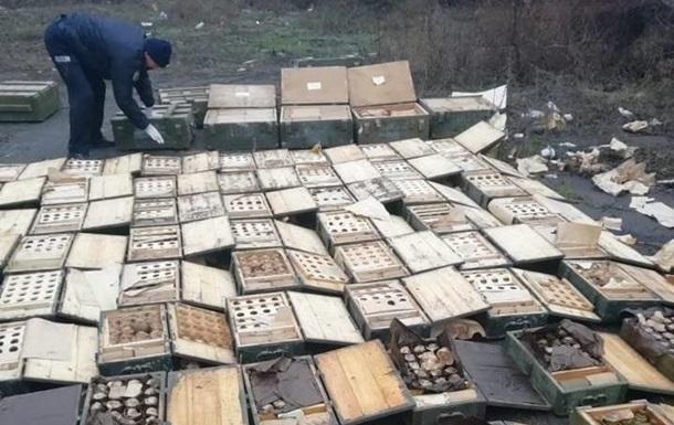 В Мариуполе нашли огромный тайник боеприпасов