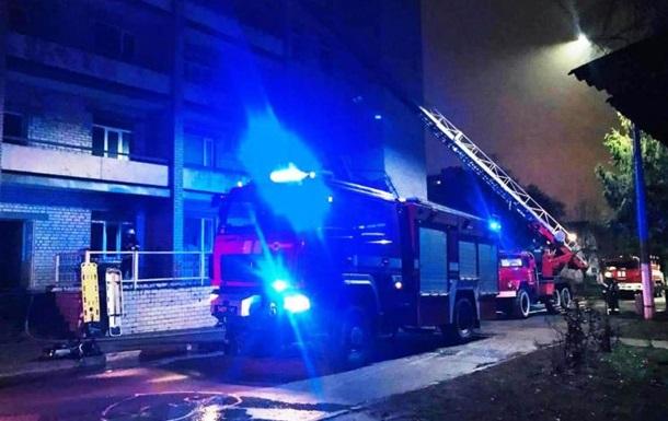 Названо версії пожежі в лікарні Запоріжжя