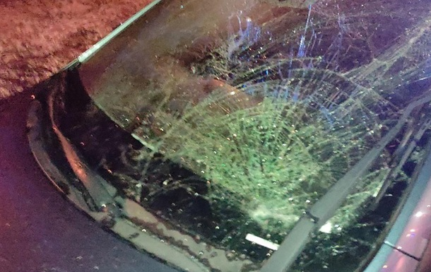 В Енергодарі військові потрапили під колеса авто