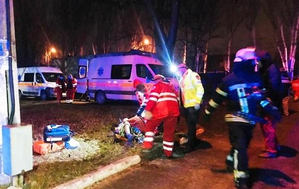Пожар в больнице Запорожья: главврач отстранен