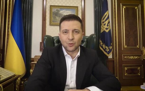 Зеленский в видеообращении объяснил санкции СНБО