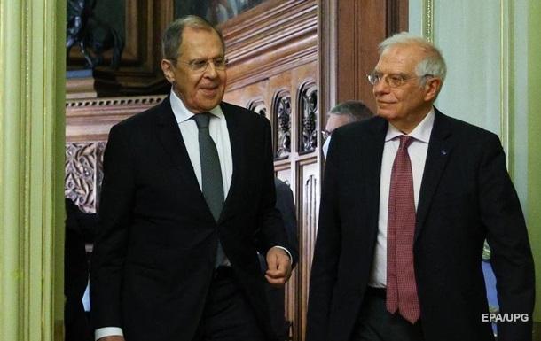 Боррель обсуждал вопрос Украины с Лавровым