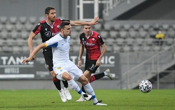 Динамо вырвало победу у Шкендии в контрольном матче