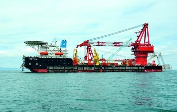 Укладка Северного потока-2 началась в водах Дании