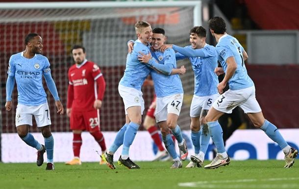 Манчестер Сіті розгромив Ліверпуль, відправивши у ворота Аліссона чотири м ячі