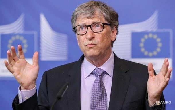 Гейтс назвав головні загрози людству