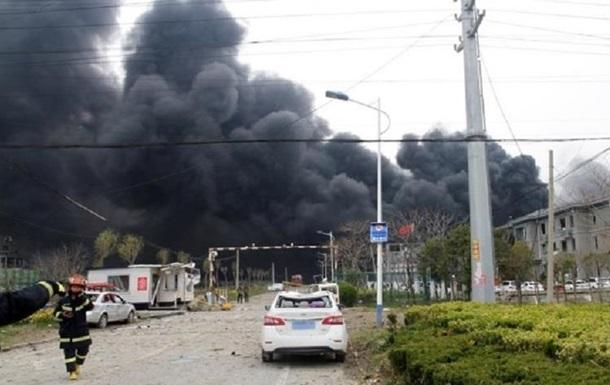 На фармзаводе в Китае прогремел взрыв, есть жертвы