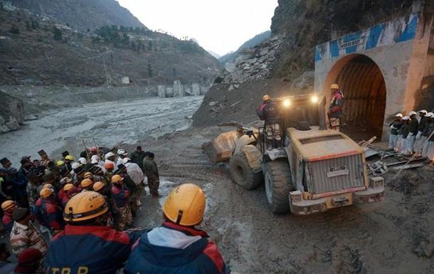 Сходження льодовика в Індії: 26 загиблих, понад 170 осіб зникли безвісти