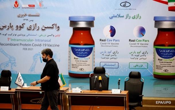 Иран представил собственную COVID-вакцину