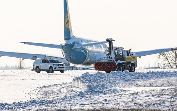 В аэропорту Борисполь отменяются и задерживаются рейсы