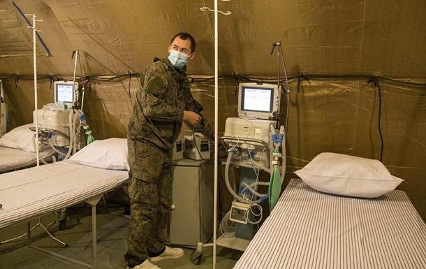 Военные РФ оборудуют госпиталя в Крыму