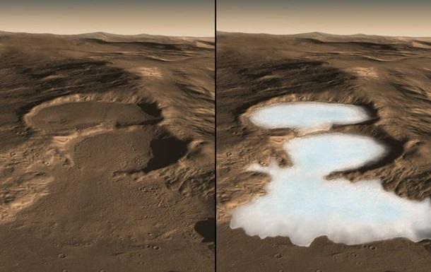 На Марсі виявили значні ресурси льоду: опублікована карта