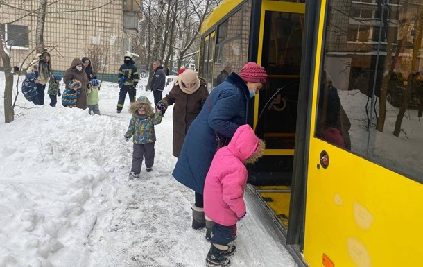 В Киеве горел детсад