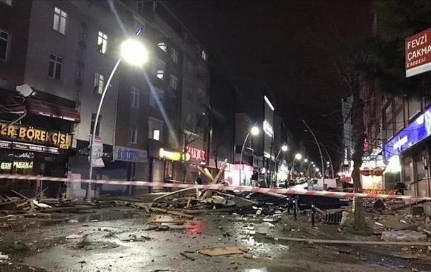 В Стамбуле бушевал мощный ураган