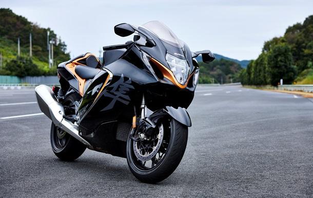 Suzuki представила новый мотоцикл Hayabusa