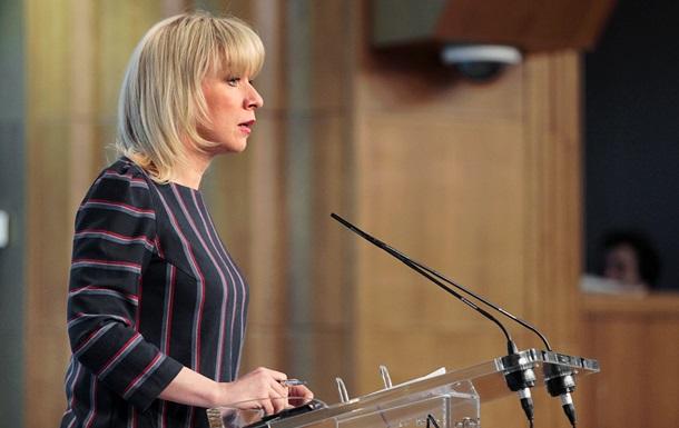 Захарова запропонувала Україні і Заходу ввести санкціі проти себе