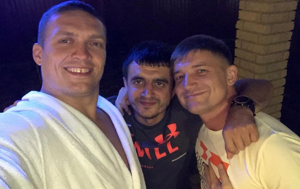 I WORKED WITH USYK WITHOUT ANY CHARGE