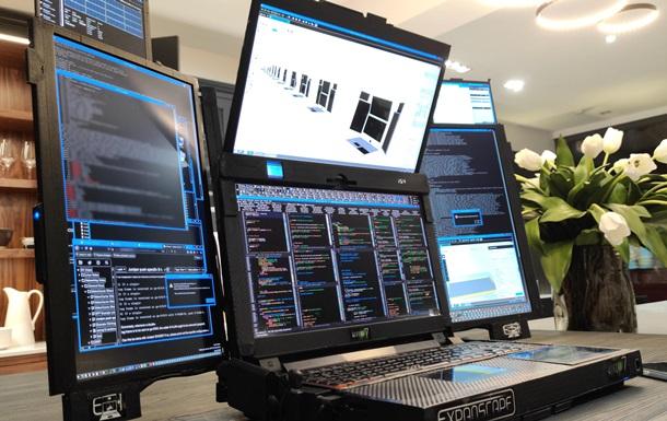 Expanscape представила прототип ноутбука с семью экранами