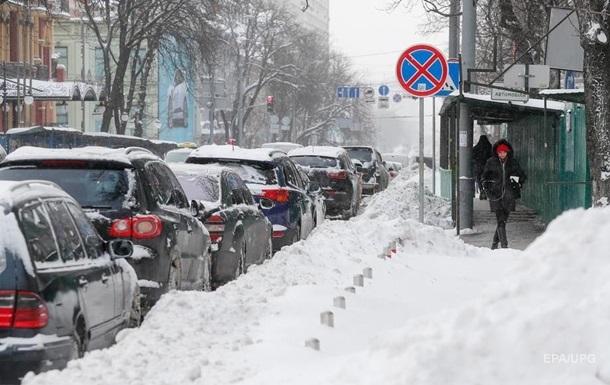 Непогода в Украине: ожидается похолодание и снег