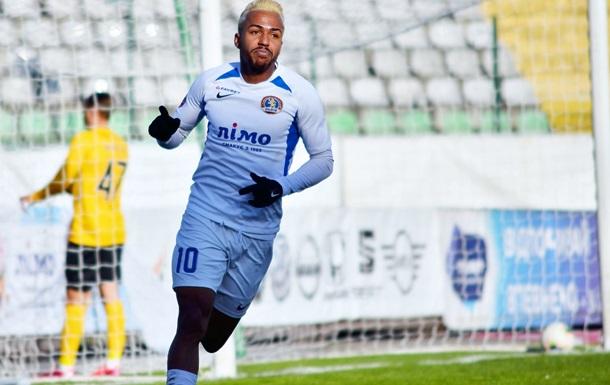 Бразилец Альваро из Львова - автор первого гола в УПЛ в 2021 году