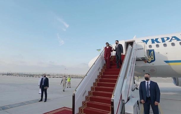 Зеленський прибув з візитом в ОАЕ