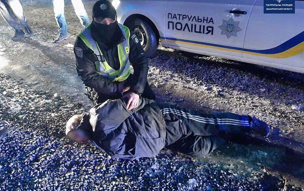 В Мукачево на улице произошло стрельба