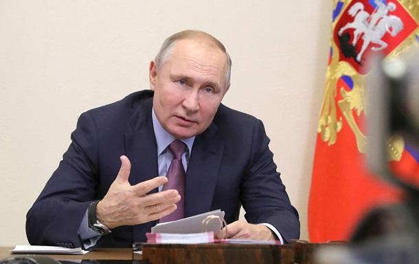 Путін заявив, що Росія  не кине Донбас