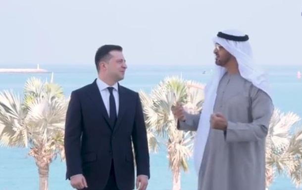 Зеленський зустрівся з наслідним принцом Абу-Дабі