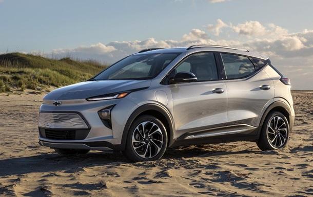 General Motors представила электромобиль Bolt EUV
