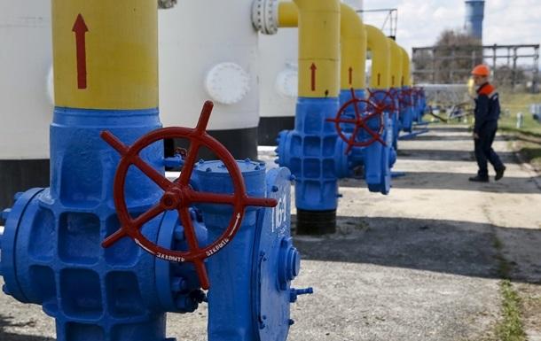 Украина использовала 4% запасов газа за неделю