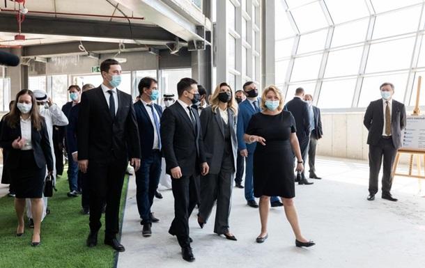 Зеленський відвідав виставку Експо-2020 в Дубаї