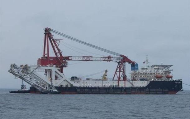 У водах Данії відновилося будівництво ПП-2
