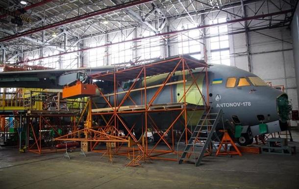 Антонов начал сборку трех Ан-178 для ВСУ